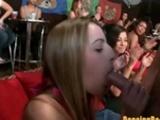 Amateur Blowbang At The Dancing Bear Orgy Club