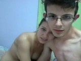 Young couple 18 made their first porno video