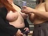 Large ladies lick pussy