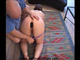 Anal Big Tit Mature BBW Mom Gets Ball Gagged & Butt Pugged
