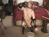 Antonia squirting and gagging!2