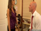 Naughty America Busty Secretary Kortney Kane Fucks Boss