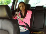 Sweet Natalie gets nice fucked in fake taxi