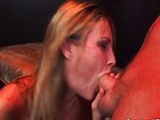 Harmony Rose shows her oral skills