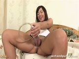 Kinky Gertie Playing With Her Sex Toys