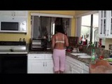 Teen Fucks Daddy While Mom is in Kitchen
