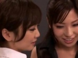 Busty Asian Girl In Black Dress Kissing Getting Her..