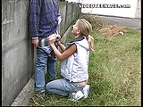 teens blowjob outdoor