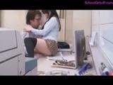Schoolgirl Getting Her H ...