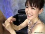 Ai Himeno Loves Cock Tease And Cock Sucking For Creamy Facials
