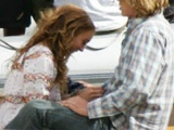 Lindsay Lohan Caught Giving Blowjob