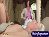Syren Demer and Jessie Volt anal 3some