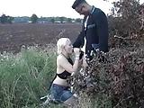 Blonde Slut Satisfies Huge Black