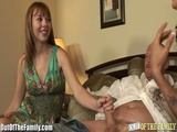 Teen Learns How To Suck Cock And Eat Pussy