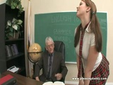 Naughty Student Fucking Her Old Teacher