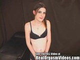 Puffy Nipple Girl Gets Off on the Sybian