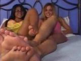 Eva Angelina Sweet Feet Lesbo Fuck