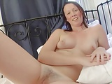 BRUNETTE ANNETTE PINK TITS HAIRY PINK PUSSY 2