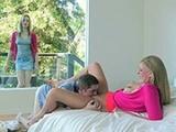 Girl Caught Boyfriend While Pleasuring Her Mommy