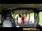 FakeTaxi Brunette Passenger Fucked And Takes Cum