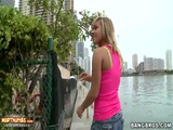 Kennedy Leigh Visiting Miami And Fucking On Camera