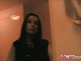 Love Creampie Sex crazy teacher so horny she does casting