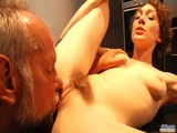 Naughty Teen Teaches Old Man To Have Sex