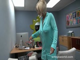 Busty MILF Fucked At The Office