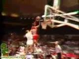 Cool Jordan dunking