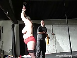 Busty bbw Andreas hardcore breast whipping and extreme amate