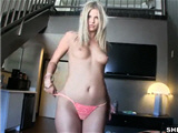 Sexy blonde gf gets hot fucked