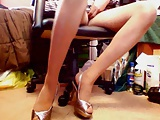 Heels and upskirts - 7