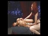 Pole dancer bondage
