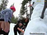 College Girl Fucking A Snowman - Snowman Videos