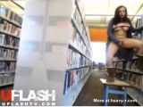 Masturbating On Table In Library - Webcam Videos
