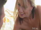 Mom Gorgeous Milf Shows Shy Guy How To Lick And Pump Her Wet Pussy