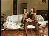 Andrea Mirage Black Stockings Sex