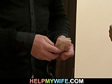 Hot cheating wife rides stranger's big meat