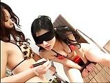 Japanese Lesbian Kimono Babe