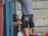 Teens Fucking Behind Dumpster - Amateur Videos