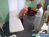 FakeHospital horny doctor gives sexy slim blonde orgasms