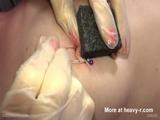 Piercing Needles Through Nipples - Torture Videos