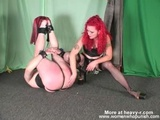 Mistress Spanking Bound Slave - Spanking Videos
