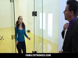 FamilyStrokes Step Daughter Fucked By Pervert Dad