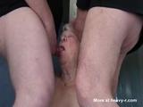 Double Blowjob By Granny  - Granny Videos