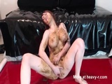 cummins HARD with shit in my mouth ! - Scat Videos