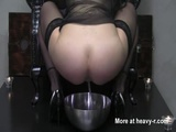 Scat Queen Takes A Piss On The Throne  - Shit Videos