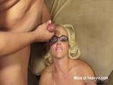 Vegas Glasses Bukkake - Bukkake Videos