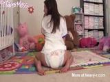 Cute Girl In Diapers - Diapers Videos