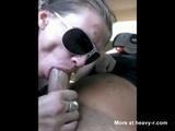 Hooker Gives Handicapped Customer A Blowjob - Hooker Videos